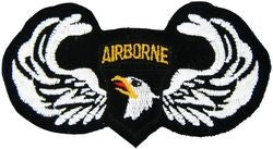 101st Airborne Wings Small Patch