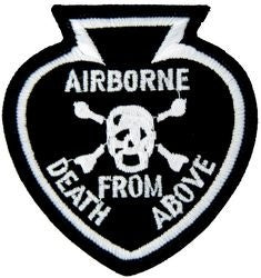 Airborne Death From Above Small Patch