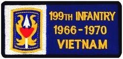199th Infantry Vietnam Small Patch