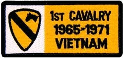 1st Cavalry Vietnam Small Patch