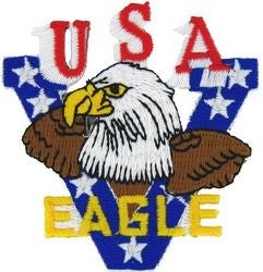 USA Eagle Small Patch