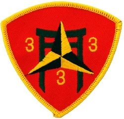 3rd BN 3rd Marine Small Patch