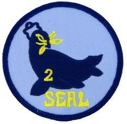 Seal Team 2 Small Patch
