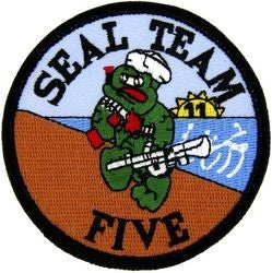 Seal Team 5 Small Patch