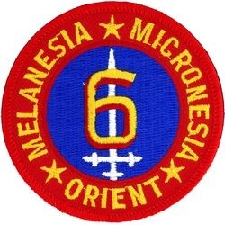6th Marine Division Small Patch