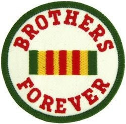 Brothers Forever Small Patch