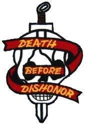 Death Before Dishonor Small Patch