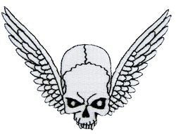 Winged Skull Small Patch