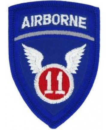 11th Airborne Division Small Patch