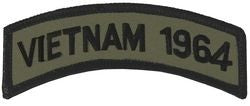 1964 Vietnam Tab Small Patch