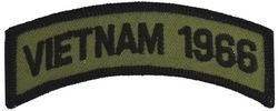 1966 Vietnam Tab Small Patch
