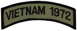 1972 Vietnam Tab Small Patch
