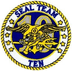 U.S. Navy Seal Team 10 Patch