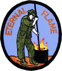 Eternal Flame Small Novelty Patch