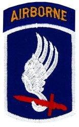 173rd Airborne Brigade Novelty Patch
