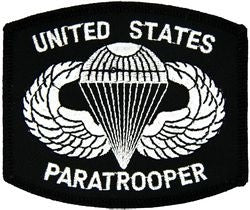 United States Paratrooper Small Patch