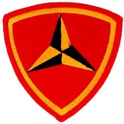 3rd Marine Division Small Patch