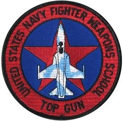USN Fighter Weapons School Small Patch