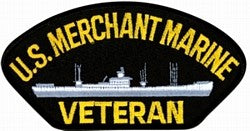 US Merchant Marine Veteran Patch
