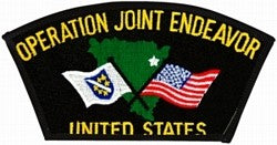 Operation Joint Endeavor Patch