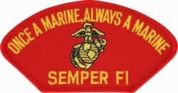 Once a Marine Always a Marine Patch
