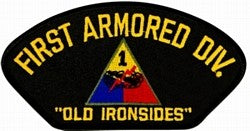 1st Armored Division Patch