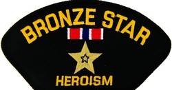 Bronze Star Patch