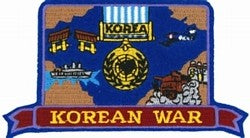 Korean War Patch