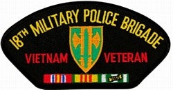 18th Military Police Vietnam Vet Patch