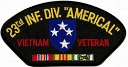 23rd Infantry Vietnam Vet Patch