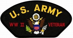 USA WWII Vet Patch