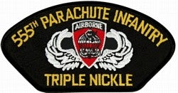 555th Parachute Infantry Patch - Triple Nickle