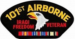 US Army 101st Airborne Iraqi Freedom Veteran Patch