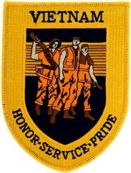 "Vietnam ""Honor Service Pride"" Patch"