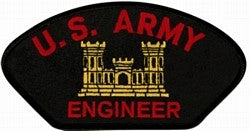 ARMY ENGINEER PATCH