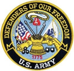 Defenders of Our Freedom - U.S. Army 5 Inch Patch