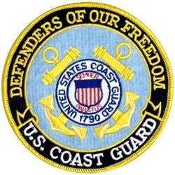 Defenders of Our Freedom - U.S. Coast Guard 5 Inch Patch