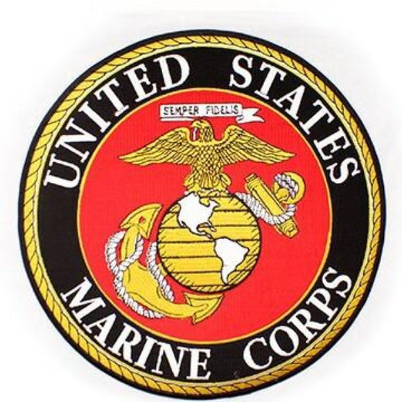 United States Marine Corps EGA Back Patch - 12 Inch
