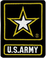US Army Of One Logo Back Patch