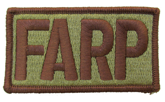 Air Force FARP OCP Patch Spice Brown - Forward Area Refueling Point