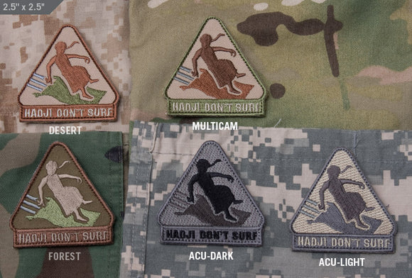 Hadji Don't Surf Morale Patch - Mil-Spec Monkey