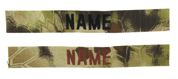 Kryptek Highlander Name Tape - SEW ON