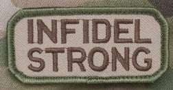 Infidel Strong Morale Patch - Mil-Spec Monkey