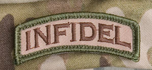 Infidel Tab Morale Patch - Mil-Spec Monkey