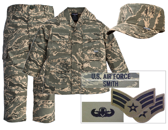 Kids Military Uniform Package - Air Force ABU