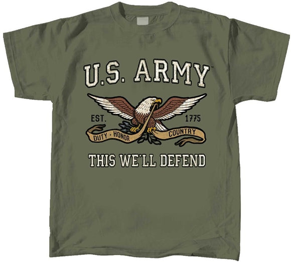 Kids Army Mascot T-Shirt