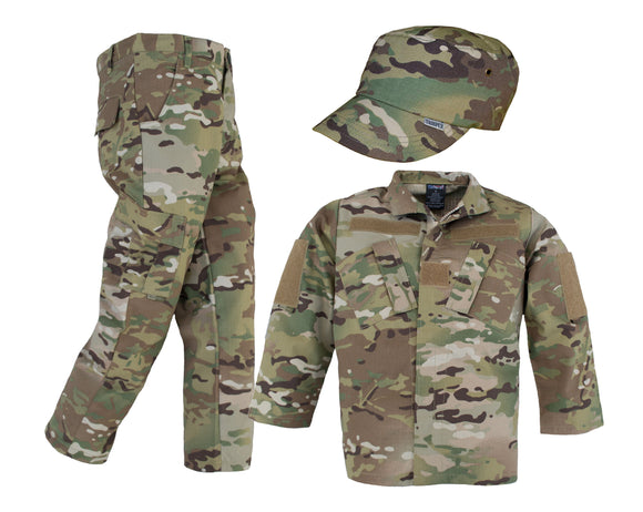 Kids Multicam Uniform