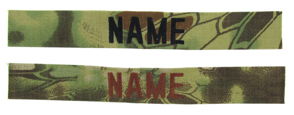 Kryptek Mandrake Name Tape - SEW ON