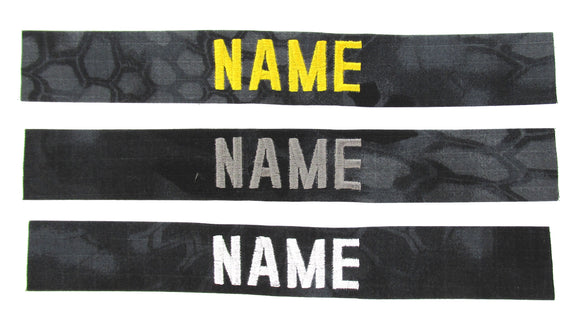 Kryptek Typhon Name Tape - SEW ON - Fabric Material