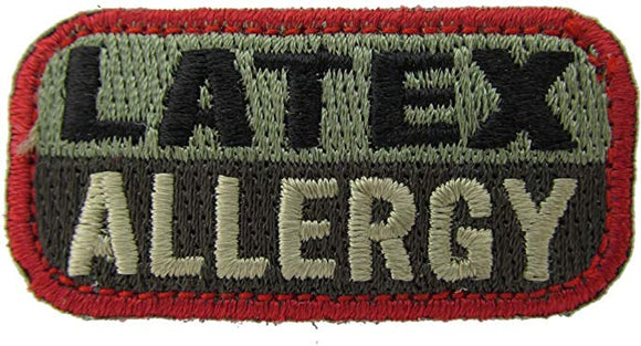LATEX ALLERGY Patch - FOLIAGE GREEN